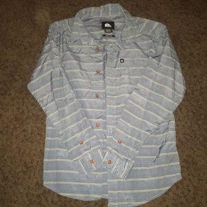 Quiksilver  boys button down shirt
